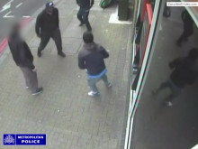 CCTV footage of Wandsworth stabbing