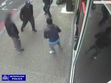 CCTV footage of Wandsworth stabbing