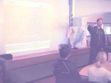 Designteamet Haas & Hahn höll en inspirationsworkshop med ungdomar från Fryshuset i Göteborg