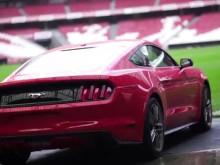 FORD MUSTANG TIL UEFA CHAMPIONS LEAGUE FINALEN