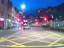 Dash cam footage of two vehicles involved in Croydon murder