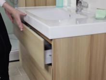Porsgrund Trend baderomsmøbler med Push Open funksjon