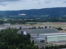 Video fra landingen av Antonov AN-225