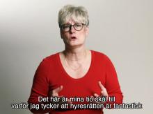 Marie Linder förklarar - 10 skäl att älska hyresrätten