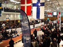 Malin Dahström vann Stavhoppstävlingen i Nordstan med 4.30