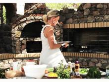 Matlagning med Fontana: Victoria Riis (Caesarsallad med Saganaki)