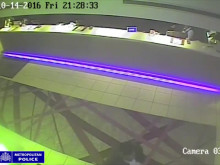 CCTV footage of men police wish to identify