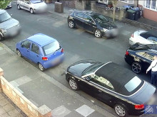 CCTV of the firearm incident