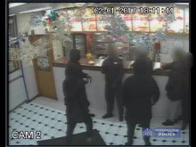CCTV footage of Brixton stabbing
