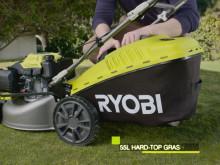 Käynnistä polttomoottorikäyttöinen ruohonleikkurisi virta-avainta kääntämällä Ryobin UUDELLA EasyStart™ Ready -ruohonleikkurilla