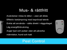 Mus & Råttfritt