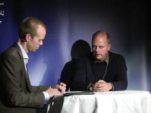 Mattias Lundberg intervjuar Professor Lars Nyberg på Psykologisk Salong den 4 oktober 2012 #psykologi #umu #umeå