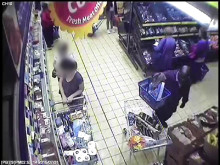 CCTV footage of man police wish to trace