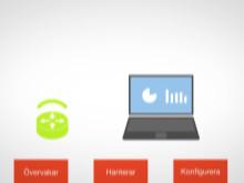 Net1 erbjuder en trygg datauppkoppling, där vi tar ansvar för helheten.