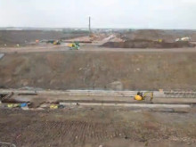 Time-lapse video of construction work in Stoke Gifford