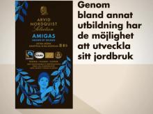 AMIGAS stöttar kvinnliga kaffeodlare