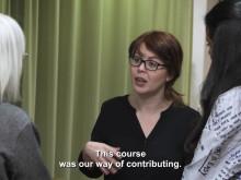 Unik intensivutbildning för nyanlända läkare/engelsk text