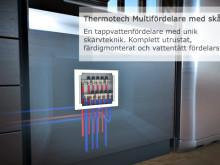 Thermotech MultiSystem - system för tappvatten och radiatoranslutningar