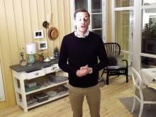 Produktchef Jesper Nilsson presenterar nyheten verandor
