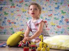 "Tapeten ""Brio Dots"" från kollektionen Scandinavian Designers mini"
