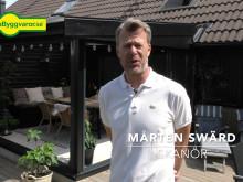 Videoreportage hos familjen Swärd i Skanör. 1:45
