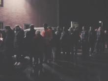 Black Friday-kø ved Megastore Lørenskog