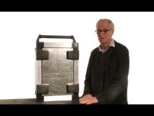 Lär dig om det nya lås-gångjärnet - som fungerar som lås och gångjärn