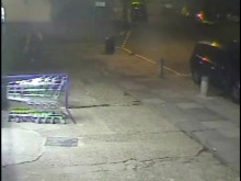 CCTV of the man police would like to trace following a sexual assault in Barnet