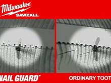 Milwaukee Sawzall bajonetsavklinger - Nail Guard™