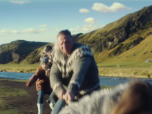 Arla Foods brings the power of Iceland back to the TV screens with Arla skyr's second advert