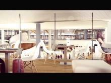 Animasjon av nye Oslo Lufthavn