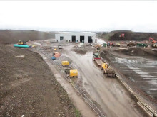 Stoke Gifford construction - time lapse film - high resolution