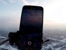Sendte mobilen 30.000 meter til værs