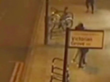 CCTV footage of the incident [1]