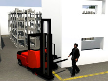 Film Toyota SpotMe - demonstrerar varningssystemet för säkrare lager och truckmiljöer