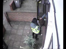 CCTV footage of Newham robbery