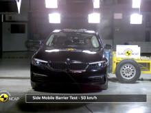 BMW 5-Series Euro NCAP testing 2017