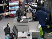 CCTV footage of three men police wish to identify
