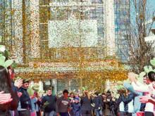 Guldregn på Lisebergspremiären