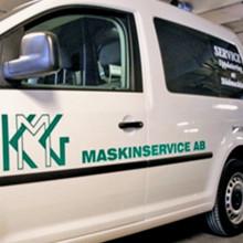 KMG Maskingservice satsar på långvarigt samarbete
