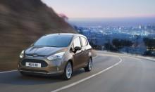 Uusi Ford B-MAX: uusinta tekniikkaa ja taloudellista ajoa