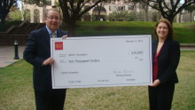 GAHCC Partners with Wells Fargo for $10,000 Donation