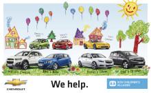Chevrolet skänker bilar till Barnbyar