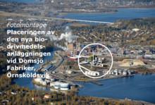 Godkänt FoU-stöd till biodrivmedelsprojekt i Domsjö