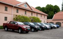 Ny Ford Ranger på plass i Norge