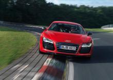 Banrekord för Audi R8 e-tron på Nürburgring