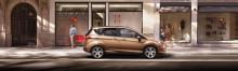 Nya eleganta Ford B-MAX öppnar dörrarna för praktiska stadskörningslösningar vid 2012 års bilmässa i Genève