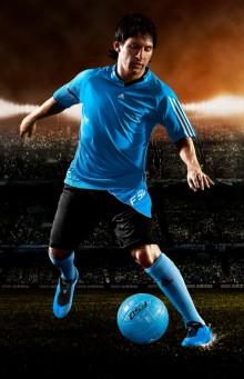 Messis nya sko adidas F50i – ny fotbollsrevolution för artisten på planen