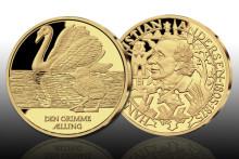 H.C. Andersens mest kända sagor förevigade på medaljer