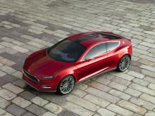 Ford Evos -konsepti – esittelee Fordin uuden globaalin muotoilun ja teknologioiden viimeisimmän näkemyksen